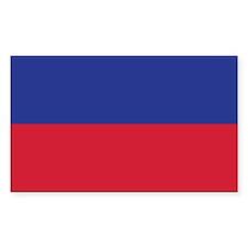Haiti Civil Flag Decal