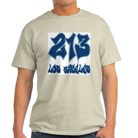 "LA ""Dodgers Colors"" Ash Grey T-Shirt"