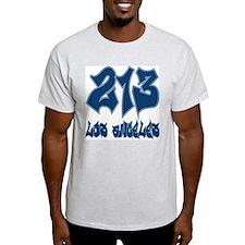 """LA """"Dodgers Colors"""" Ash Grey T-Shirt"""