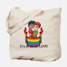 It's all about Love! Tote Bag