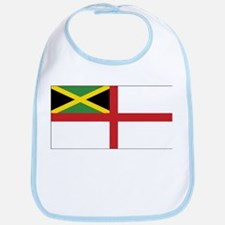 Jamaica Naval Ensign Bib