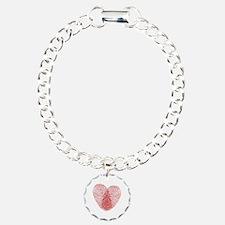 fingerprint heart Bracelet