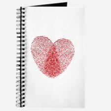 fingerprint heart Journal