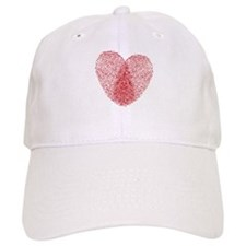fingerprint heart Baseball Cap