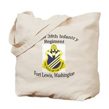 1st Bn 38th Infantry Tote Bag