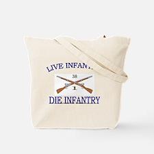 1st Bn 38th Infantry Tote Bag