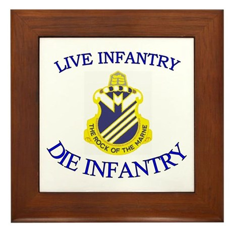 1st Bn 38th Infantry Framed Tile
