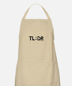 Too long, didn't read, funny Apron
