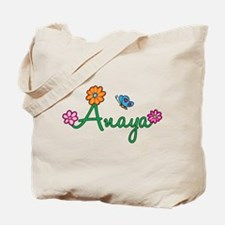 Anaya Flowers Tote Bag