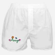 Anaya Flowers Boxer Shorts