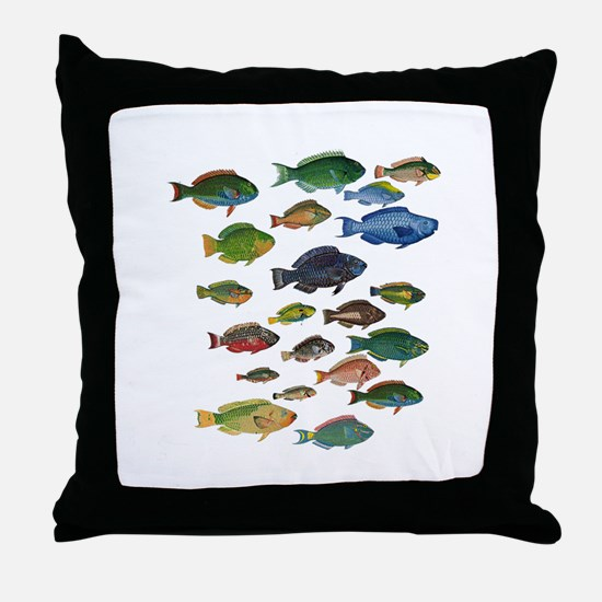 Unique Coral reef Throw Pillow