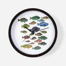 Unique Coral reef Wall Clock