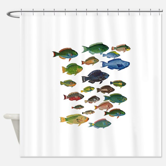Cute Belize Shower Curtain