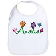 Analia Flowers Bib