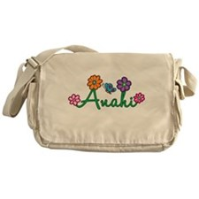 Anahi Flowers Messenger Bag