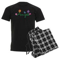 Amiyah Flowers Pajamas