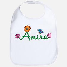 Amira Flowers Bib