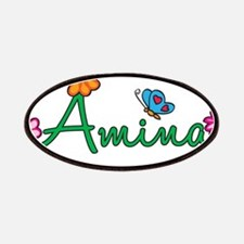 Amina Flowers Patches