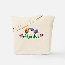 Amelie Flowers Tote Bag