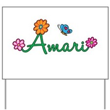 Amari Flowers Yard Sign
