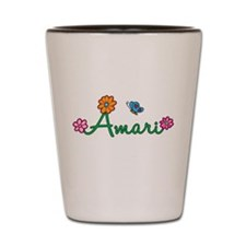 Amari Flowers Shot Glass
