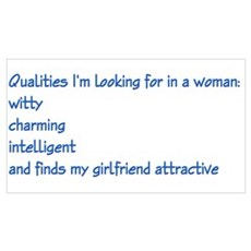 qualities in a woman Poster