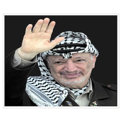 Yasser Arafat Poster