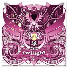 Twilight Royal Media Mix Pink Poster
