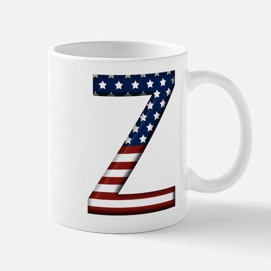 Z Stars and Stripes Mug