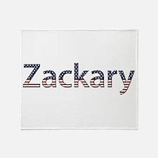 Zackary Stars and Stripes Throw Blanket