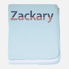Zackary Stars and Stripes baby blanket