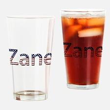 Zane Stars and Stripes Drinking Glass