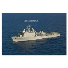 USS Comstock Poster