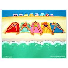Summer Sun Beach Poster