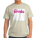 Bride Hearts Ash Grey T-Shirt