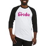 Bride Hearts Baseball Jersey
