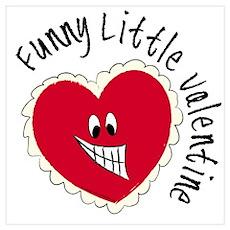 Funny Little Valentine Poster