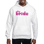 Bride Hearts Hooded Sweatshirt