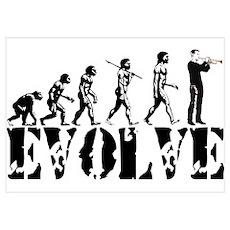 Trumpet Evolution Poster