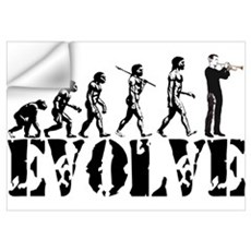 Trumpet Evolution Wall Decal