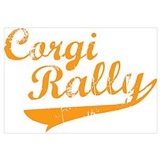 Corgi Rally Poster