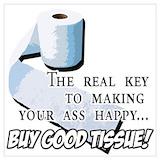 Bathroom humor Posters