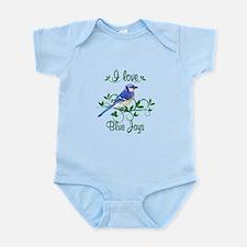I Love Blue Jays Infant Bodysuit
