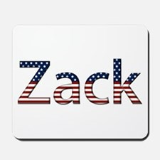 Zack Stars and Stripes Mousepad