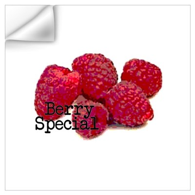 Berry Special Raspberries Wall Decal