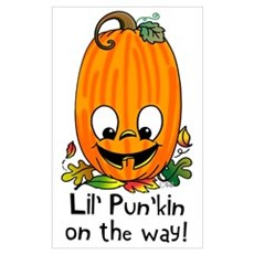 Lil' Pun'kin On the Way! Poster