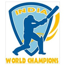 Cricket India Champions Poster