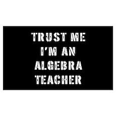 Algebra Teacher Gift Poster