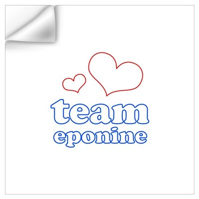 Team Eponine Wall Decal