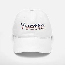 Yvette Stars and Stripes Baseball Baseball Cap